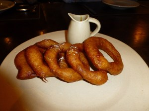 Picarones Peruvian dessert