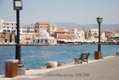 Venetian Harbour in Chania, Crete