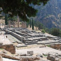 Greek Ruins in Delphi, Greece
