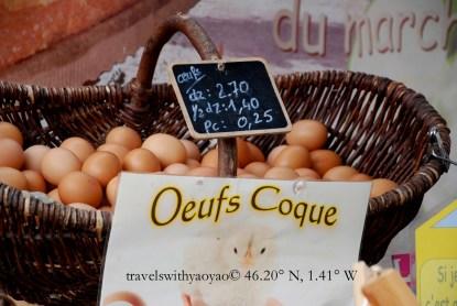 Oeufs Coque