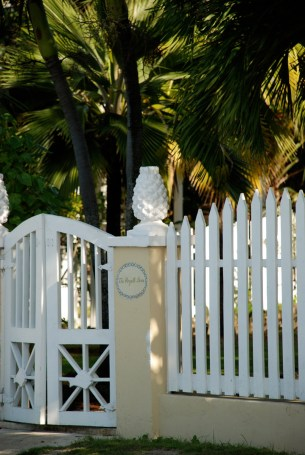 Bahamian Architecture on Harbour Island, Bahamas