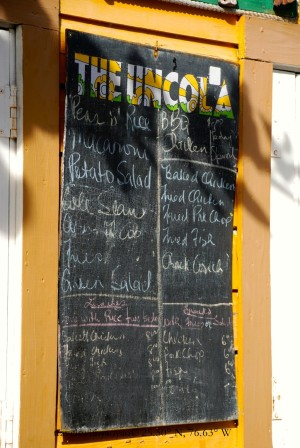 Daily Menu on Harbour Island