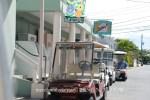Traffice Jam on Harbour Island, Bahamas