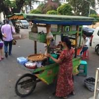Fast Food in Yangon, Myanmar