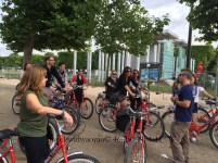Bike Riding in Paris