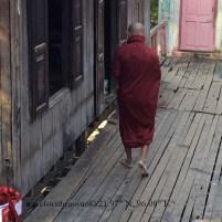 Monastery in Mandalay, Myanmar