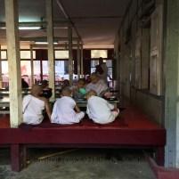 Novice Monks in Mandalay, Myanmar