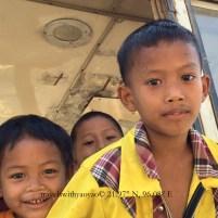 Local Children in Mandalay