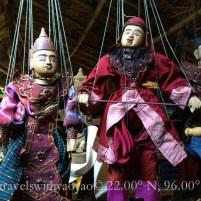 Puppet Show in Myanmar (Burma)