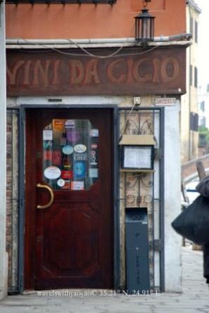 Vini Da Cicio in Venice