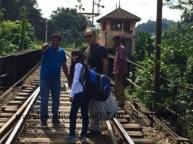 Local Tracks in Kandy, Sri Lanka