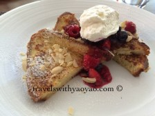 Pain Perdu at Arethusa al Tavolo