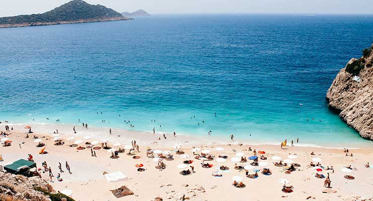 Best Beaches In The World Turkey Kaputas Beach 740x400