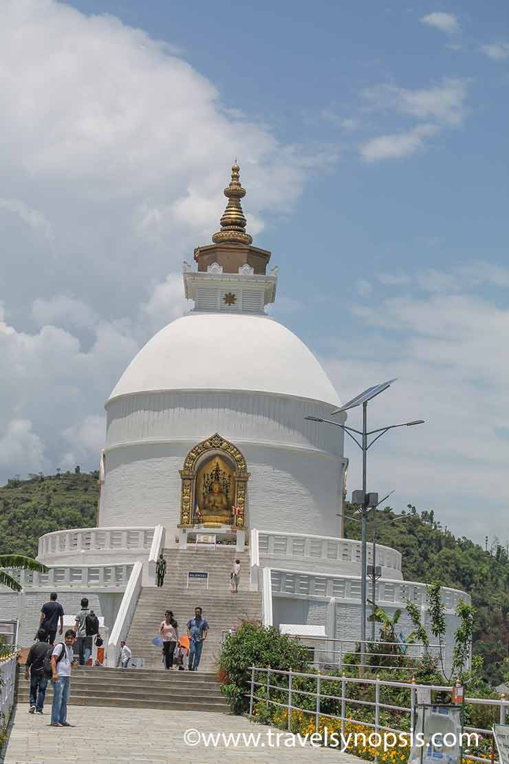 Places To Visit in Pokhara Nepal World Peace Pagoda
