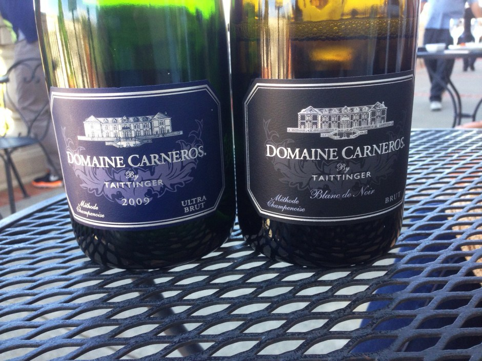 Domaine Carneros-- Taittinger's California Sparkling Wine.