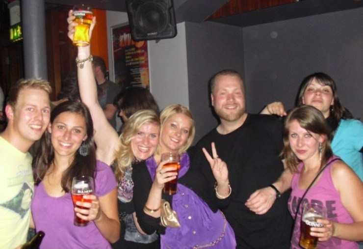 Clubbing Dublin Night