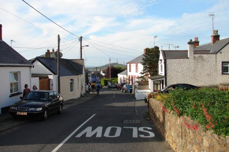 Bray close to Dublin