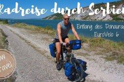 Radfahren in Serbien am Donauradweg Euro Velo 6