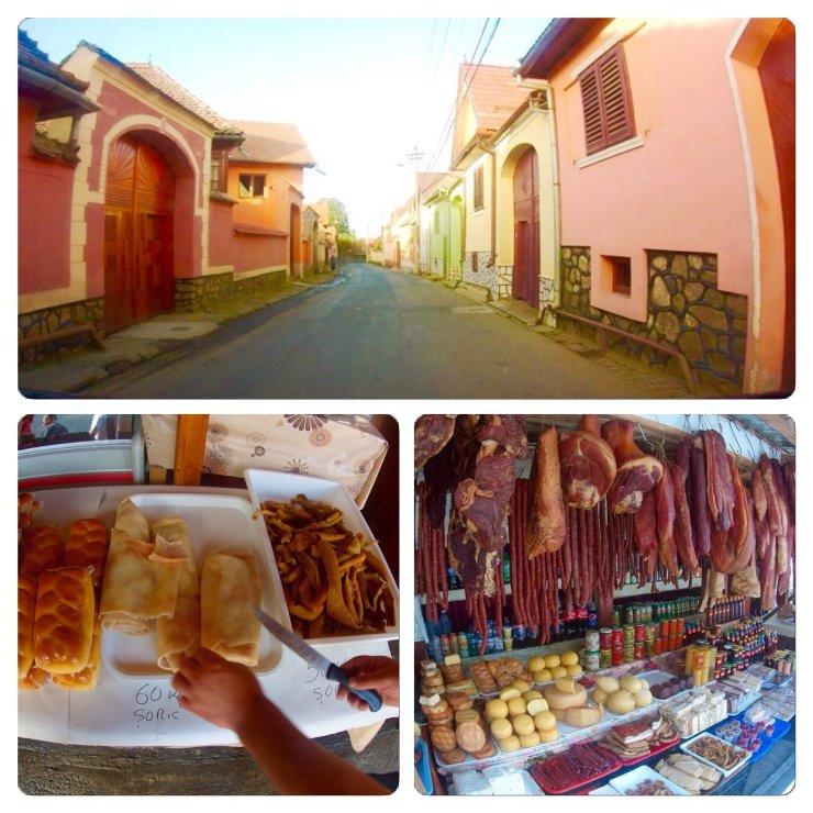 Small town Rasinare near Sibiu