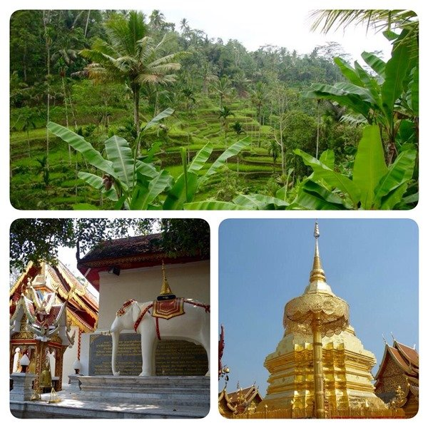 Chiang Mai - Nature and temples