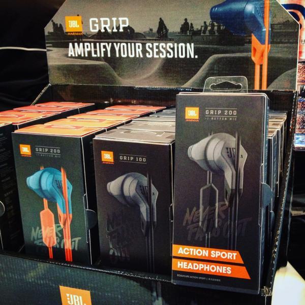 UBL Action Sport Headphones Grip 200