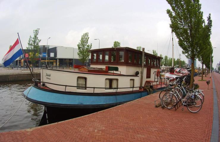 Hausboot Leeuwarden, Friesland, Niederlande