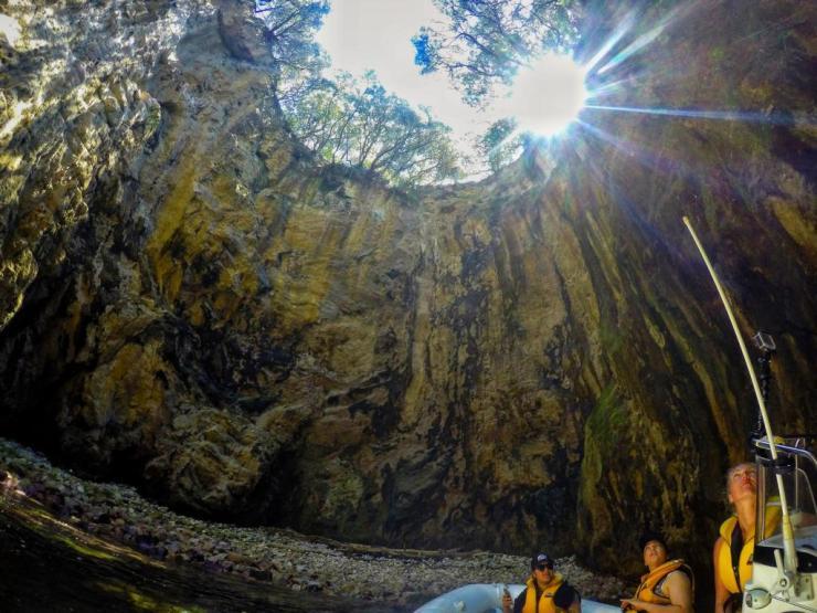 Blow Hole Big Bay Hahei - Highlights Geheimtipps in Coromandel, Neuseeland