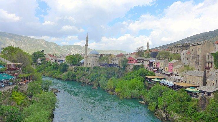 Mostar Fluss namida magazin bosnien