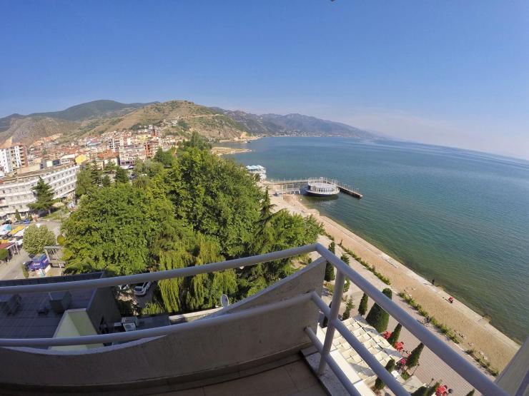 Pogradec am Ohridesse, Albanien