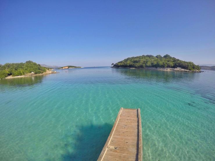 Urlaubsparadies Ksamil in Albanien