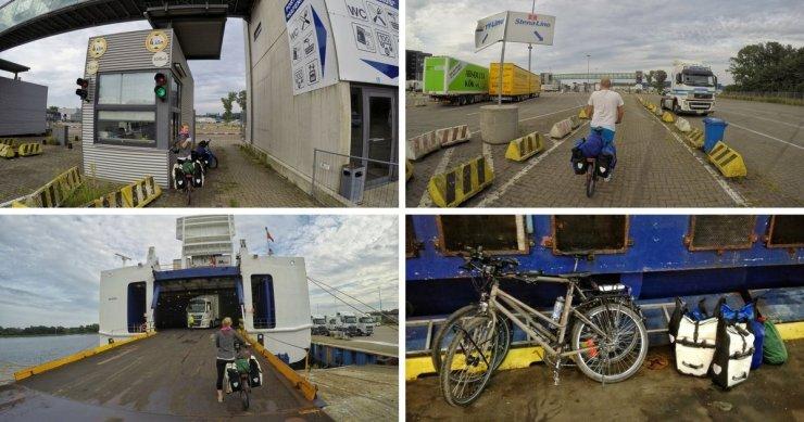 Fahrradtransport Stena Line Travemünde Liepaja