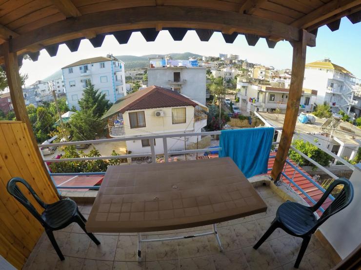 Unserer Apartment in Ksamil in Albanien