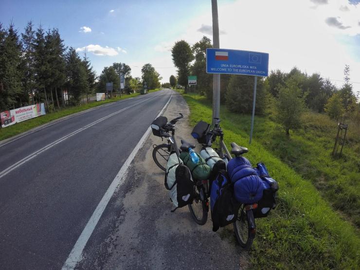 Fahrradreise Ostesküsten-Radweg Baltikum Lettland, Litauen, Polen, Deutschland