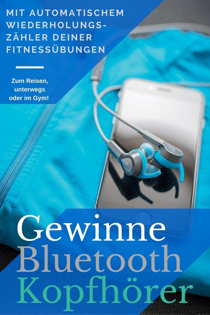 Gewinne Fitness-Bluetooth Lautsprecher für unterwegs, auf Reisen oder im Gym