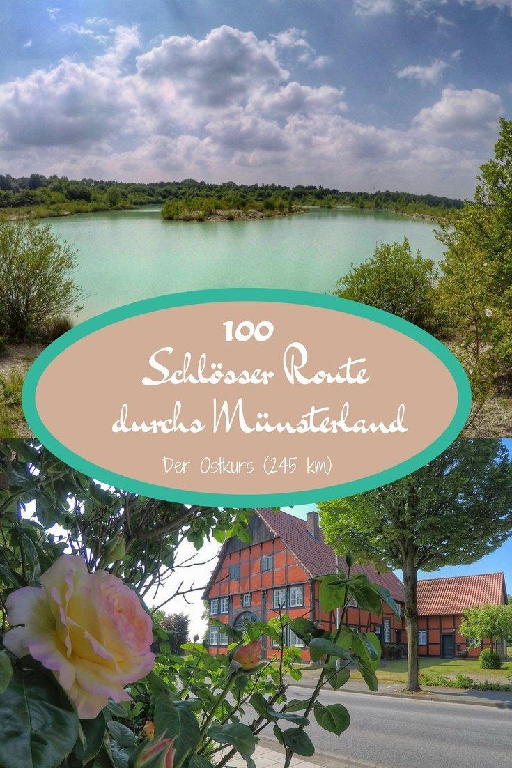 Radtour: Die 100 Schlösser Route durchs Münsterland - Der Ostkurs (245 km)