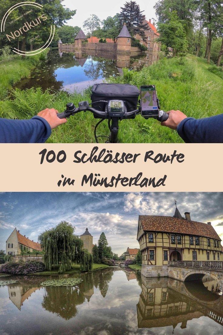Unterwegs auf dem Nordkurs der 100 Schlösser Route im Münsterland