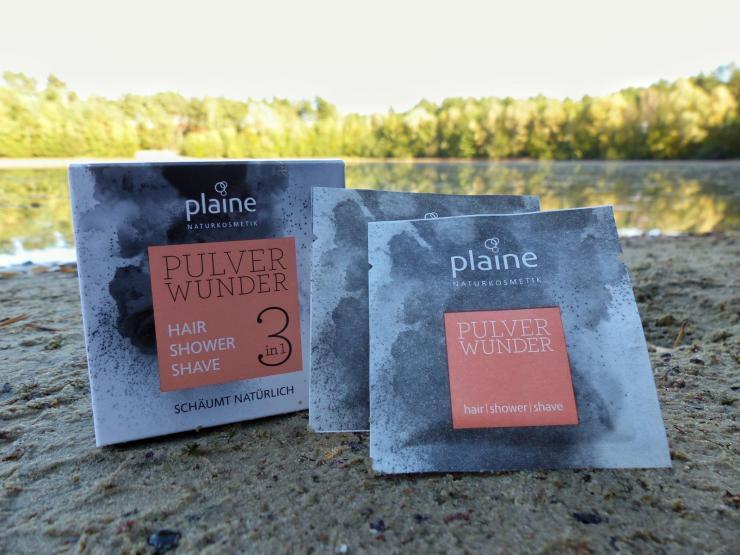 Plaine PulverWunder Outdoor Dusche Shampoo