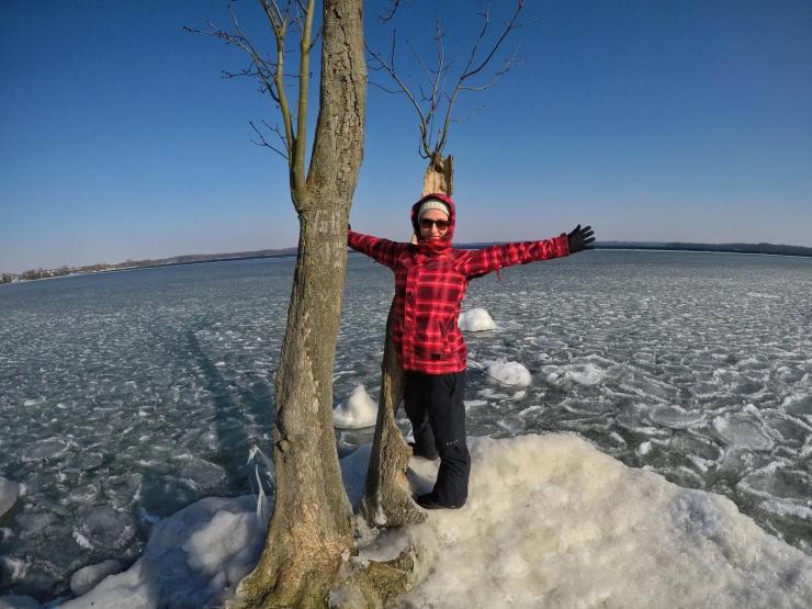 Winter am Schweriner See
