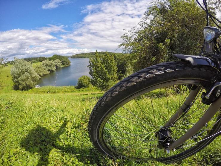 Radfahren am Schweriner See