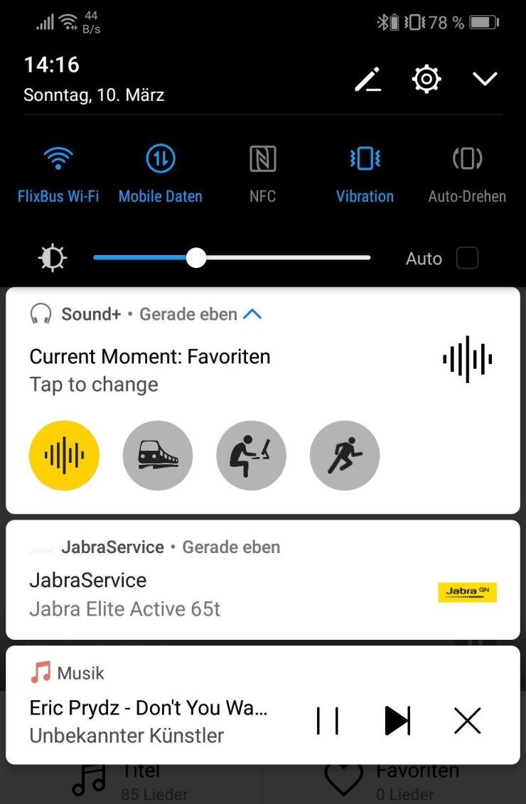 Jabra Elite 65t Bluetooth Kopfhörer