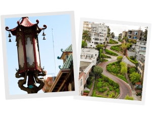 China Town | Lombard Street | San Francisco Attractions