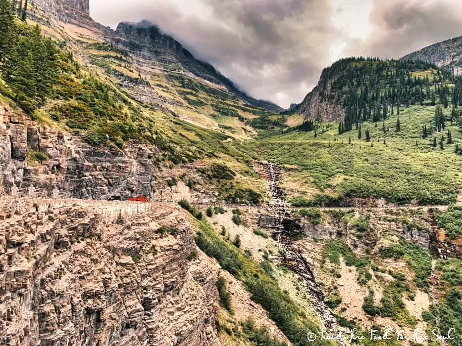 Going-To-The-Sun Road Scenic Drive In Glacier National Park