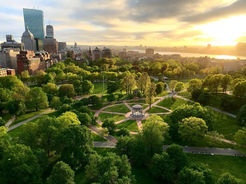 Boston common   Boston