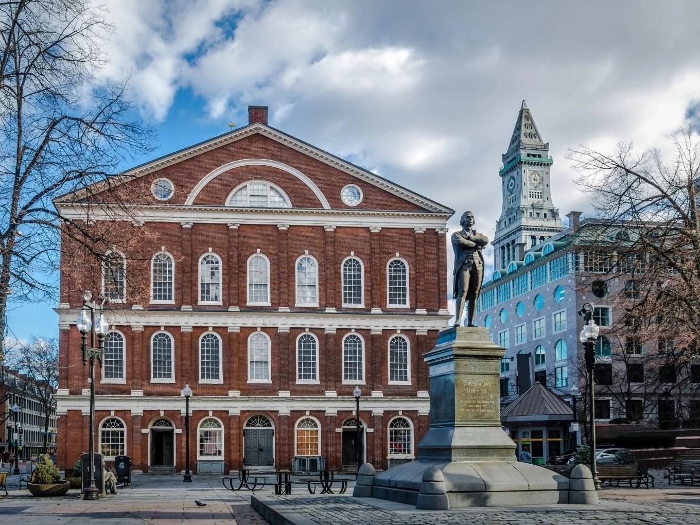 Faneuil Hall Marketplace   Boston