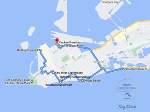 Key West Attractions Map