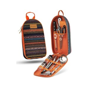 Cooking Utensil Set | The Ultimate Gift Guide For Campers and Hikers | Travel The Food For The Soul