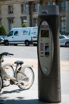 Paris Bike Meter