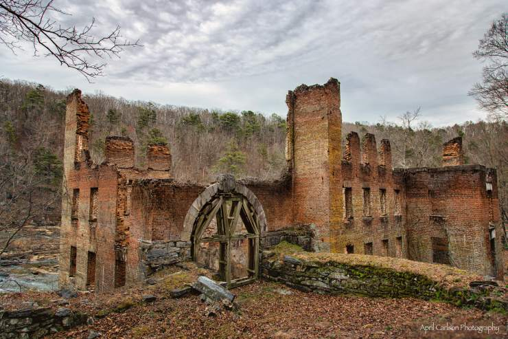 Hiking Sweetwater Creek State Park: Red Trail to New Manchester Mill Ruins