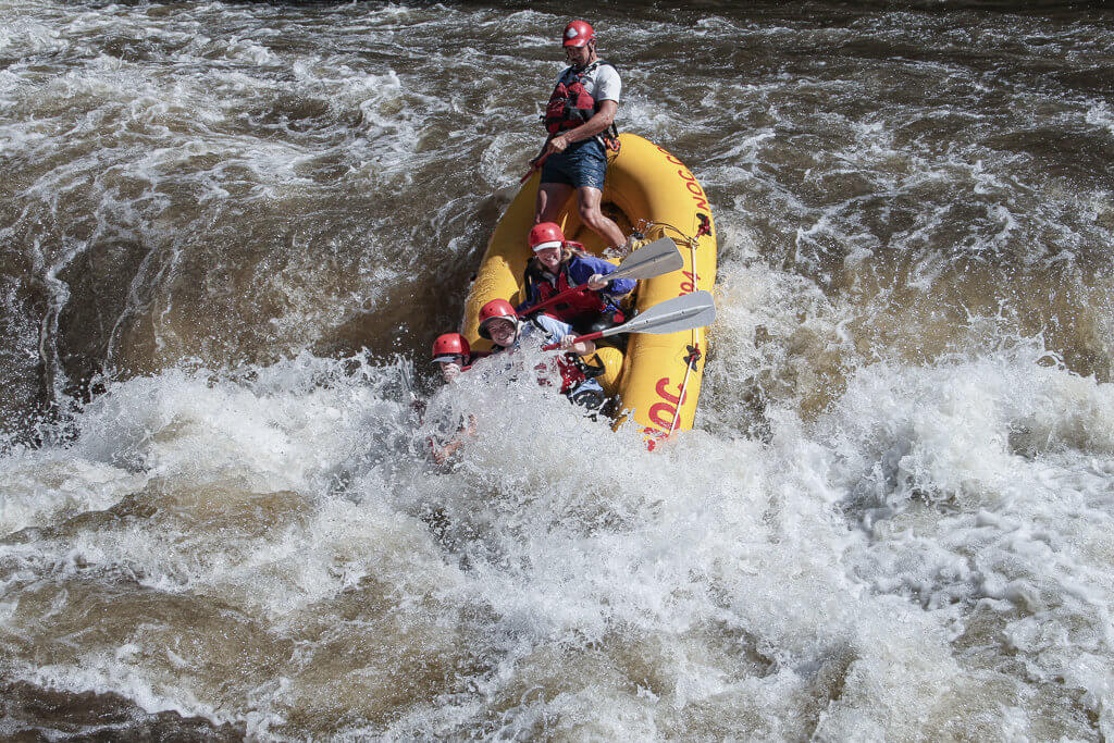 Rafting Chattooga River: Bull Sluice Rapid