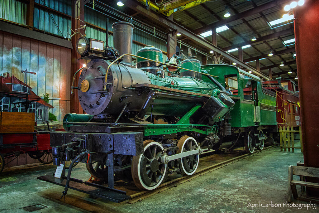 Touring Southeastern Railway Museum: Old Green Engine